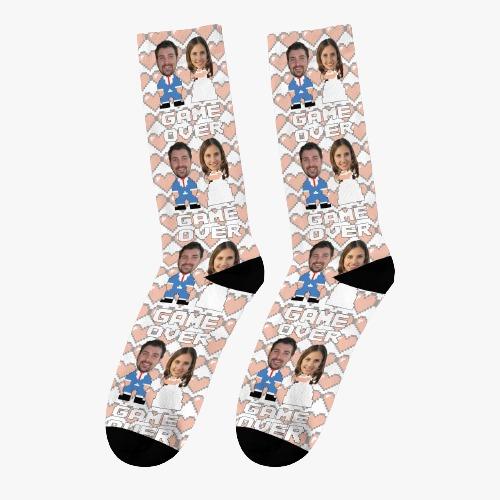 גרביים עם פרצוף