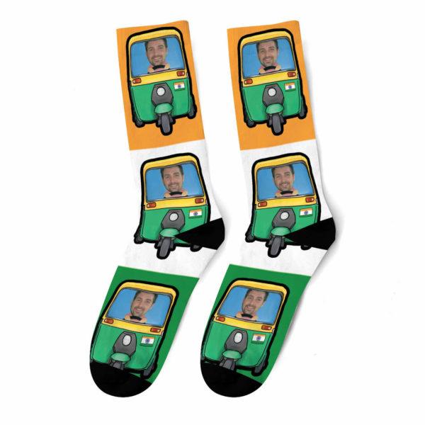 גרביים בעיצוב אישי - ריקשה